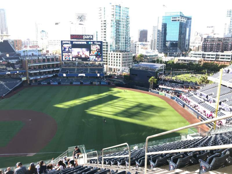 Seating view for PETCO Park Section 315 Row 25 Seat 24