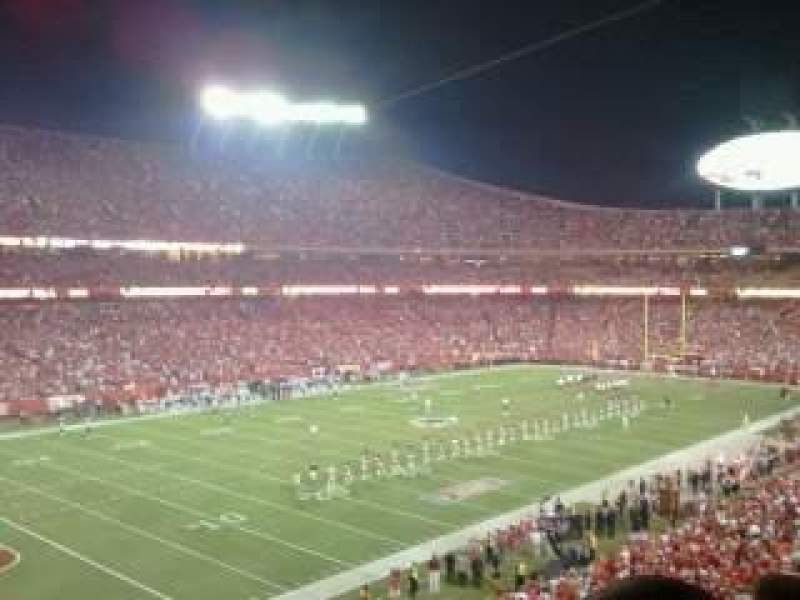 Seating view for Arrowhead Stadium Section 230 Row 12 Seat 5