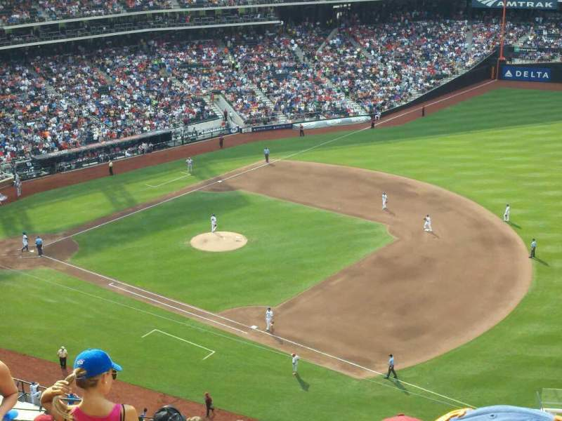 Seating view for Citi Field Section 504 Row 11 Seat 20