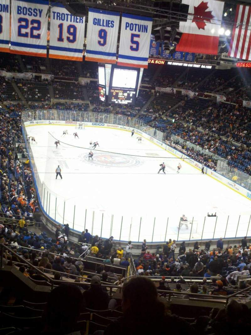 Seating view for Old Nassau Veterans Memorial Coliseum Section 335 Row H Seat 8