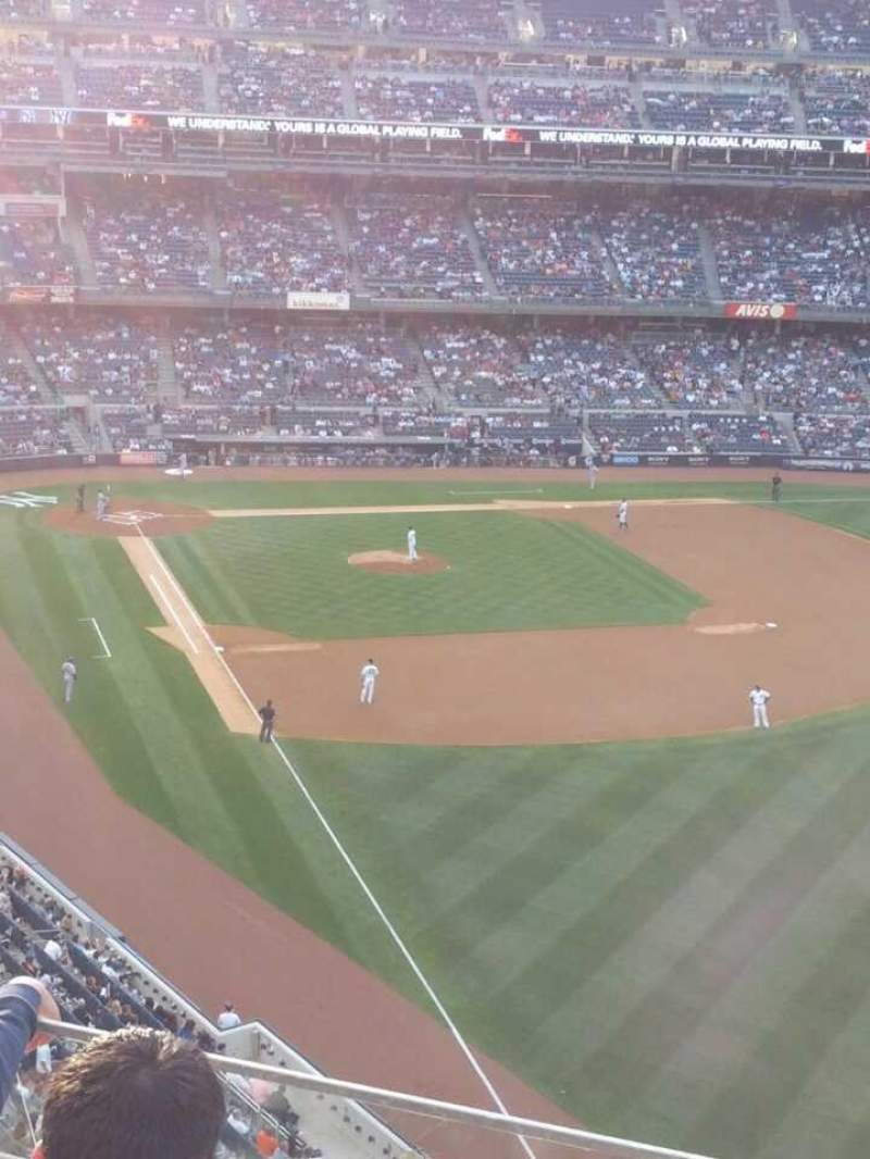 Seating view for Yankee Stadium Section 308 Row 3 Seat 12