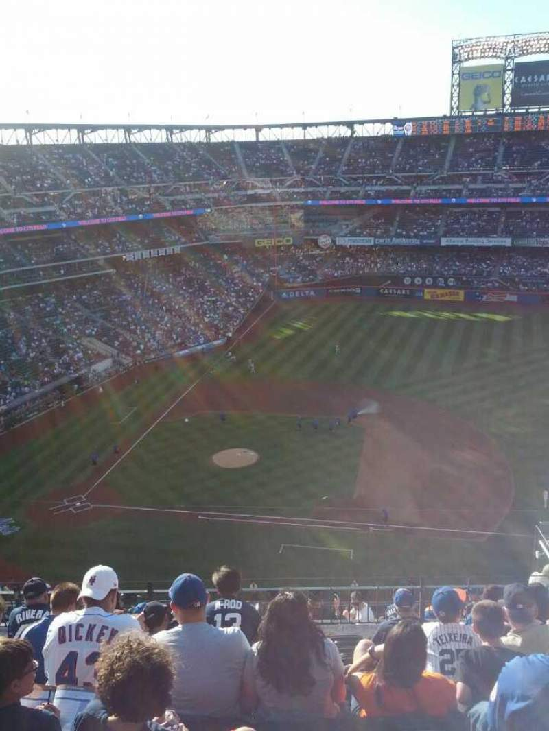 Seating view for Citi Field Section 507 Row 9 Seat 15