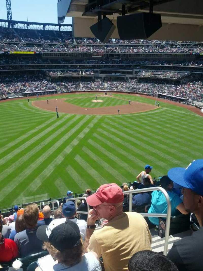 Seating view for Citi Field Section 339 Row 14 Seat 1