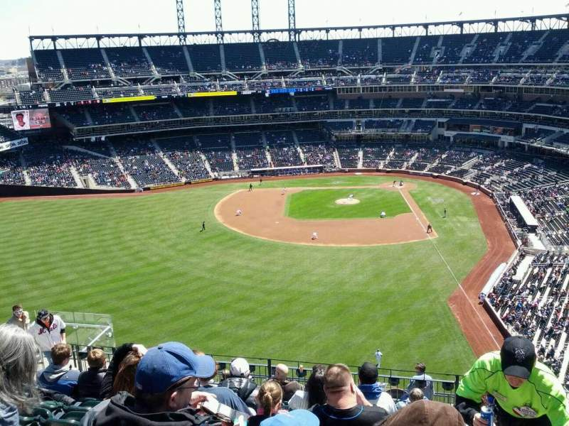 Seating view for Citi Field Section 534 Row 10 Seat 12