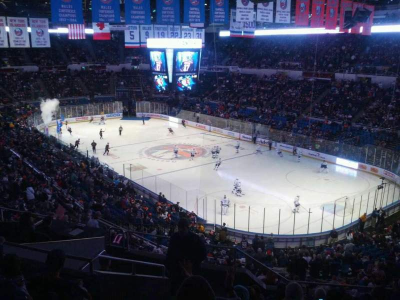 Seating view for Old Nassau Veterans Memorial Coliseum Section 317 Row j Seat 13