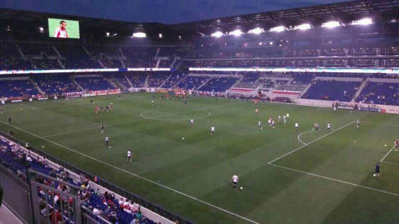 Red Bull Arena Section 223 Row 4 Seat 3 New York Red