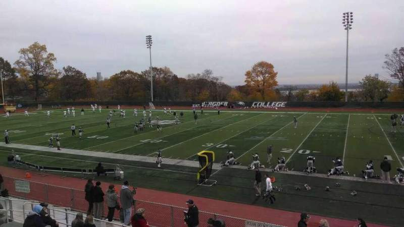 Seating view for Wagner College Stadium