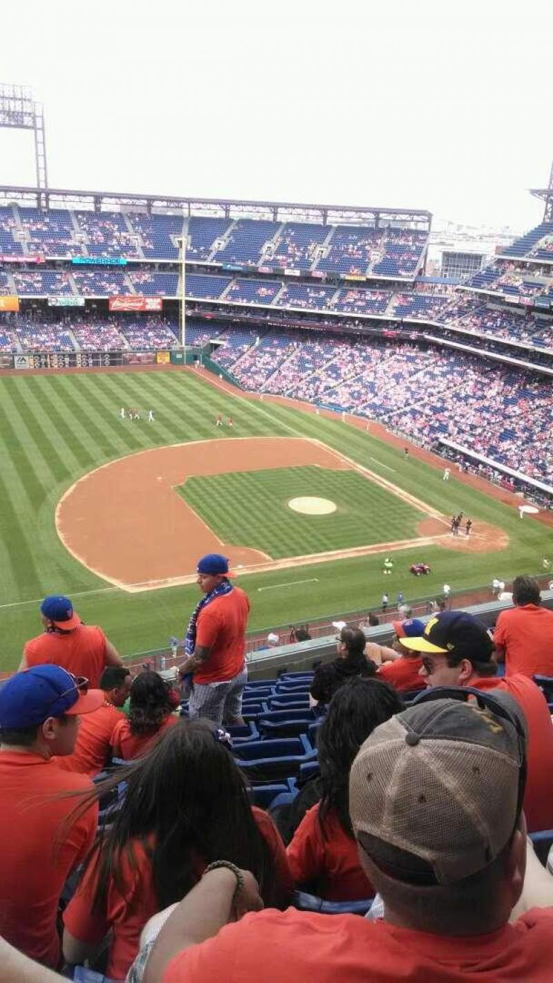 Seating view for Citizens Bank Park Section 428 Row 9 Seat 19