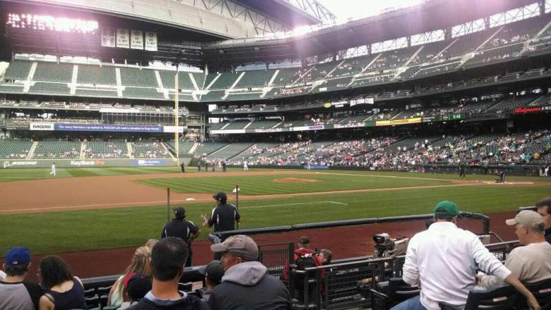 Seating view for Safeco Field Section 140 Row 8 Seat 3