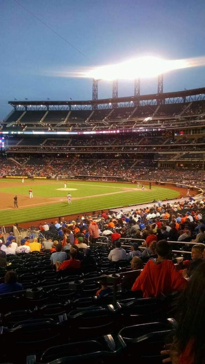 Seating view for Citi Field Section 125 Row 26 Seat 13