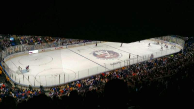 Seating view for Old Nassau Veterans Memorial Coliseum Section 307 Row S Seat 11
