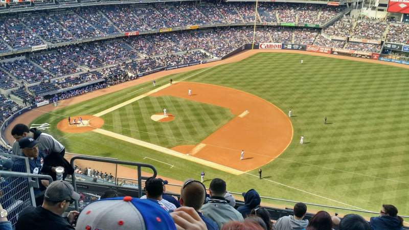 Seating view for Yankee Stadium Section 413 Row 7 Seat 20