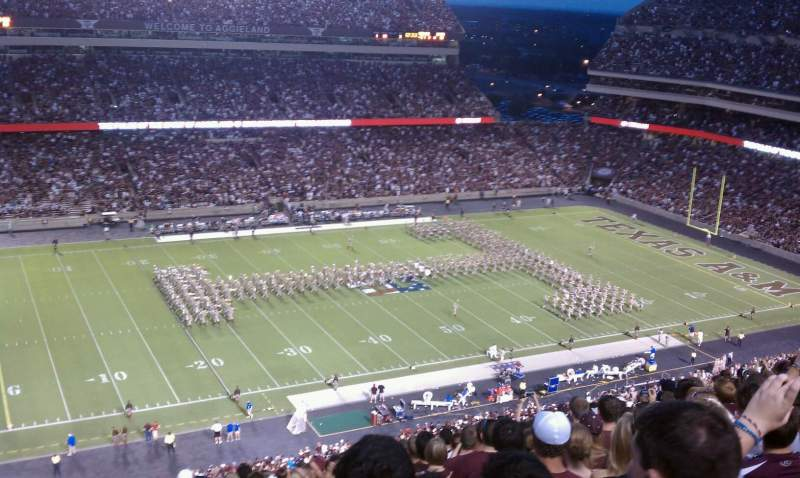 Seating view for Kyle Field  Section 338 Row 19 Seat 3