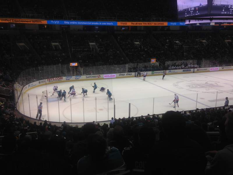 Seating view for SAP Center at San Jose Section 117 Row 22 Seat 11