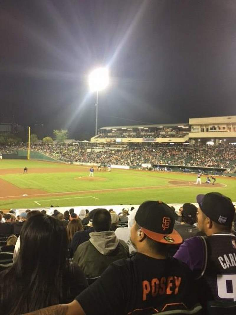 Raley Field, section: 119, row: 24, seat: 13-14
