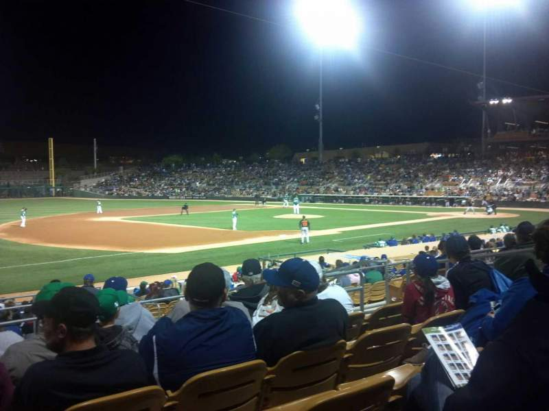 Seating view for Camelback Ranch Section 126