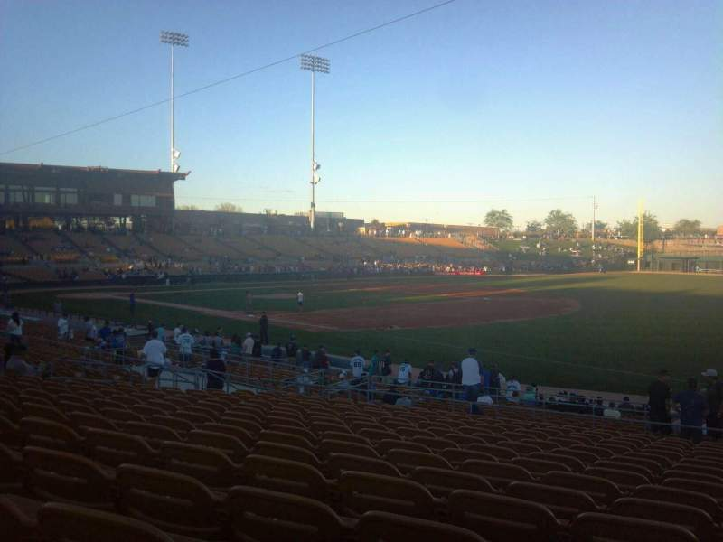 Seating view for Camelback Ranch Section 103 Row 16 Seat 3
