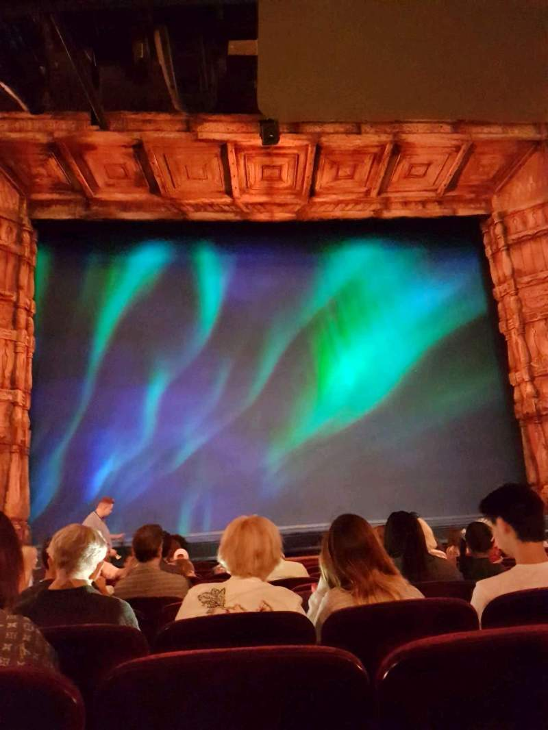 Seating view for St. James Theatre Section Orchestra C Row L Seat 111