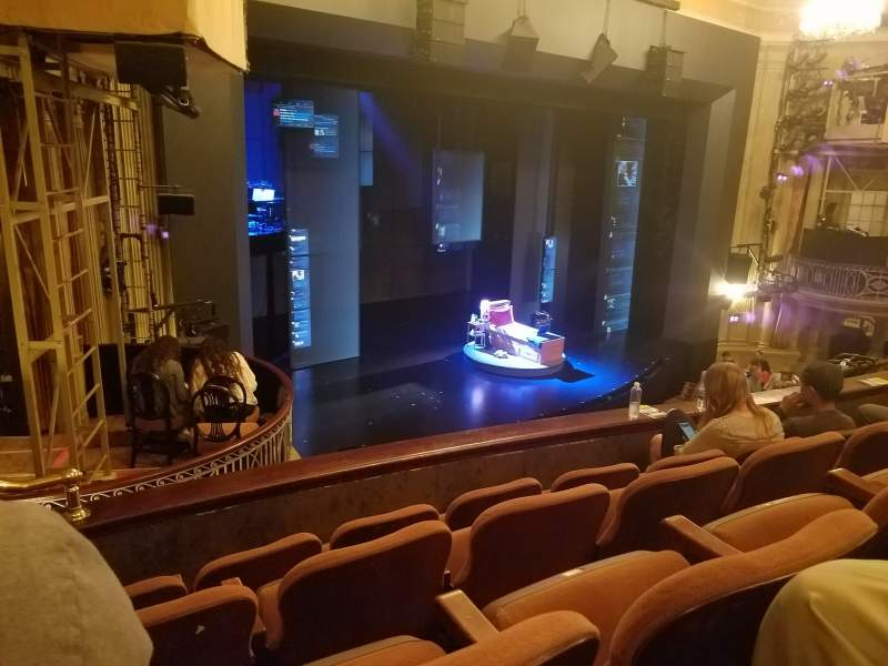 Seating view for Music Box Theatre Section Mezzanine L Row D Seat 25