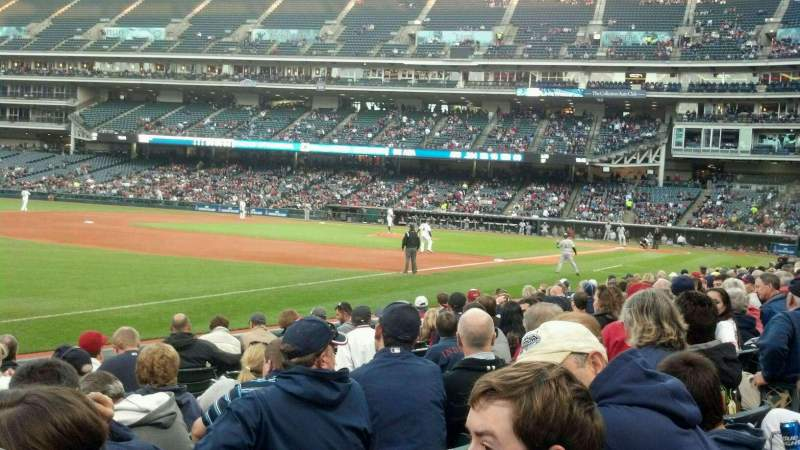 Seating view for Progressive Field Section 171 Row L Seat 9