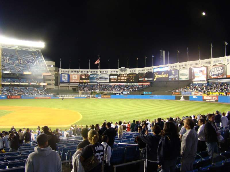 Seating view for Old Yankee Stadium Section 15 Row 261D Seat 2