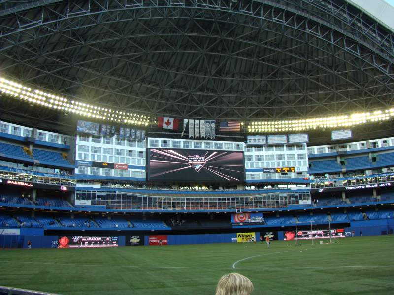Seating view for Rogers Centre Section 127L Row 4 Seat 103