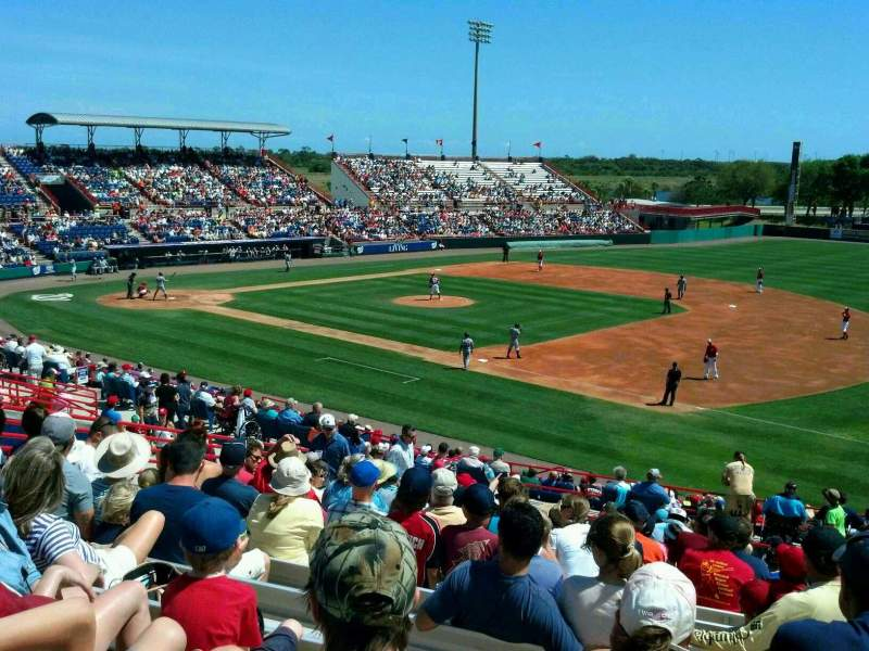 Seating view for Space Coast Stadium Section 219 Row 16 Seat 15