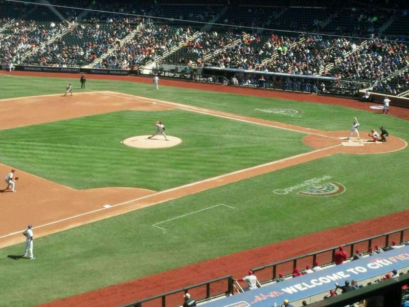 Seating view for Citi Field Section 329 Row 2 Seat 10