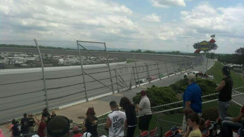Seating view for Talladega Superspeedway Section Talladega Row 16 Seat 7