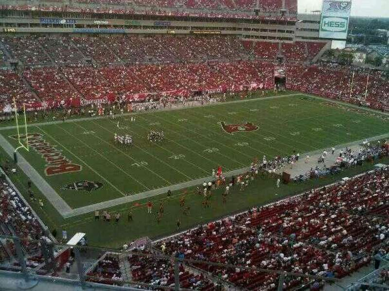 Seating view for Raymond James Stadium Section 329 Row A Seat 5