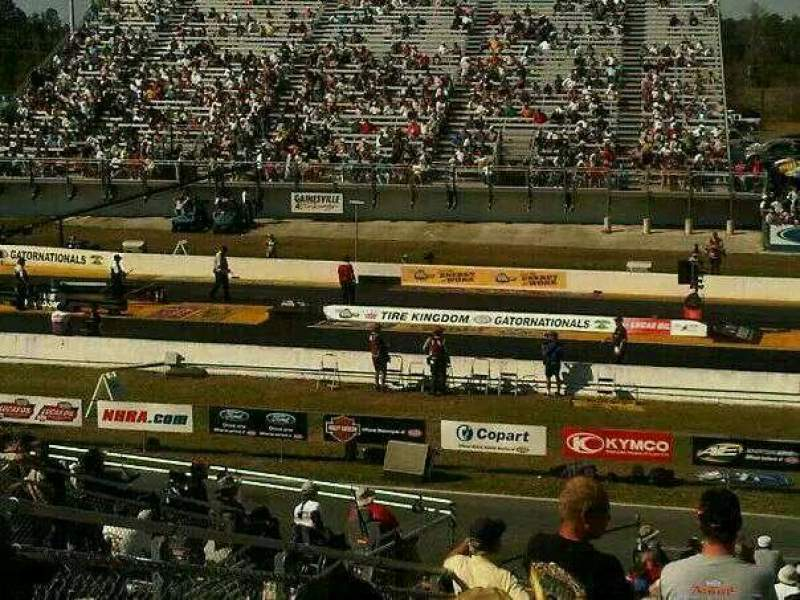 Seating view for Auto Plus Raceway Section A Row 29 Seat 12