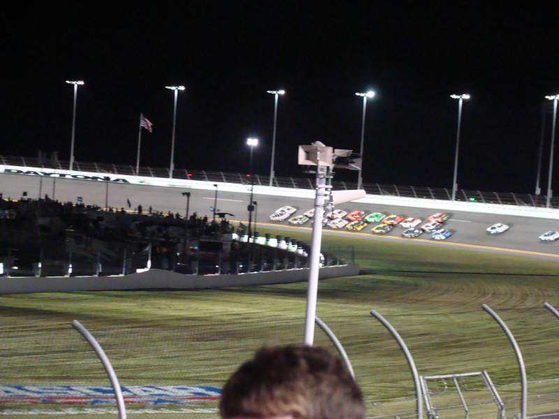 Seating view for Daytona International Speedway Section Lockhart Tower Row 29 Seat 11
