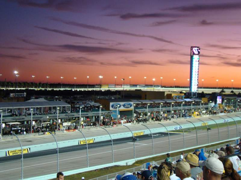 Seating view for Homestead-Miami Speedway Section 249 Row 32 Seat 5