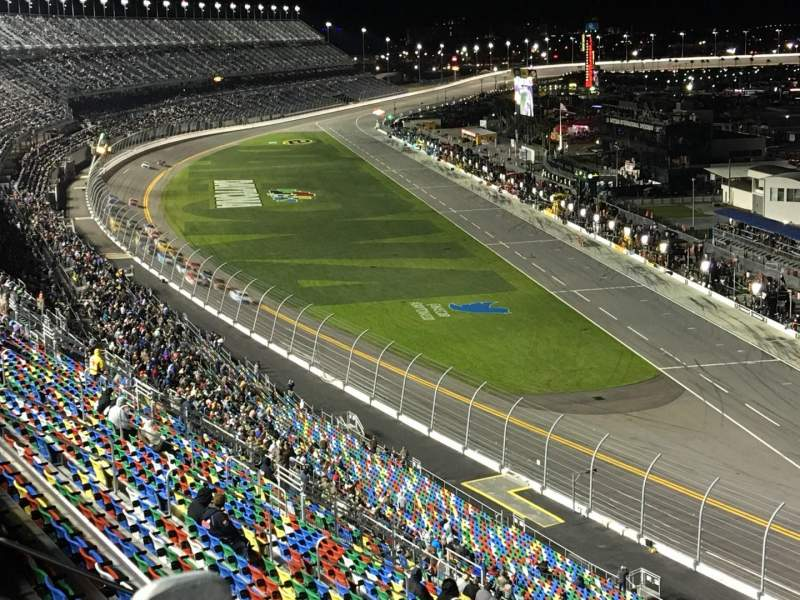 Seating view for Daytona International Speedway Section 477 Row 23 Seat 11