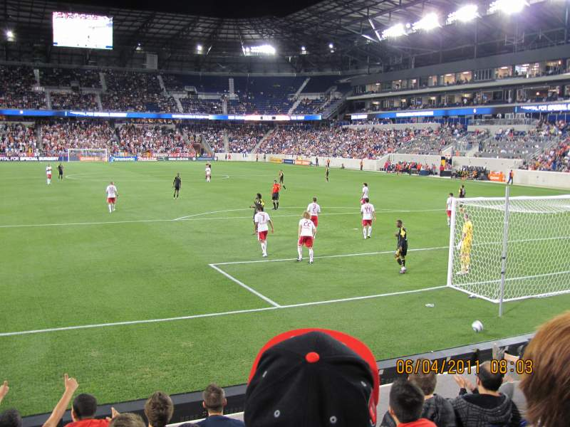 Seating view for Red Bull Arena Section 119 Row 6