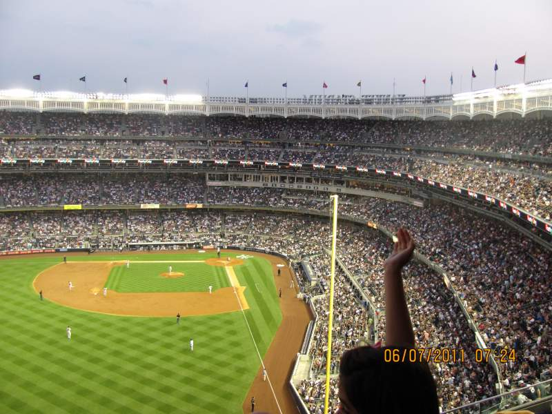 Seating view for Yankee Stadium Section 434A Row 3 Seat 2