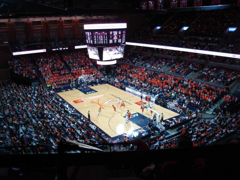 Seating view for John Paul Jones Arena Section 310 Row K Seat 2