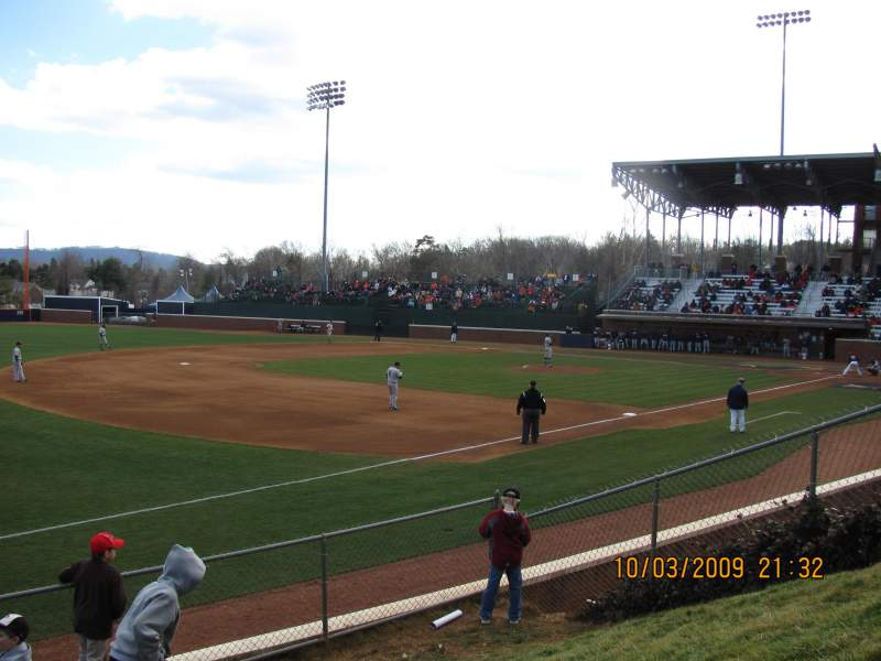 Seating view for Davenport Field Section GA Hill