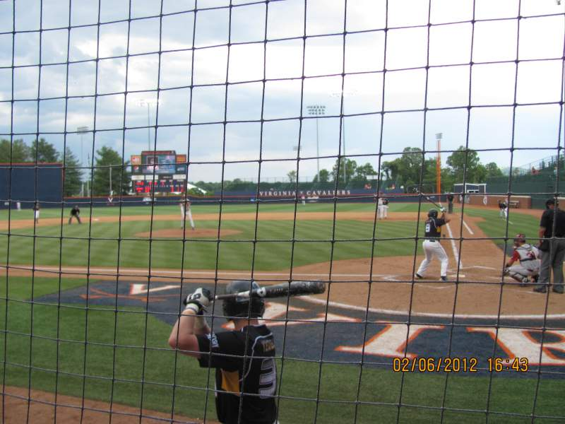 Seating view for Davenport Field Section 106 Row 1