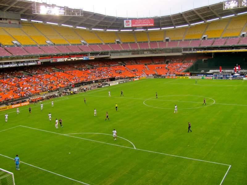 RFK Stadium, section: M45, row: 1, seat: 4