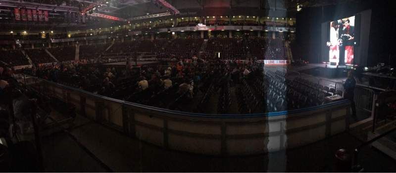 Seating view for Tribute Communities Centre Section 103 Row 4 Seat 6