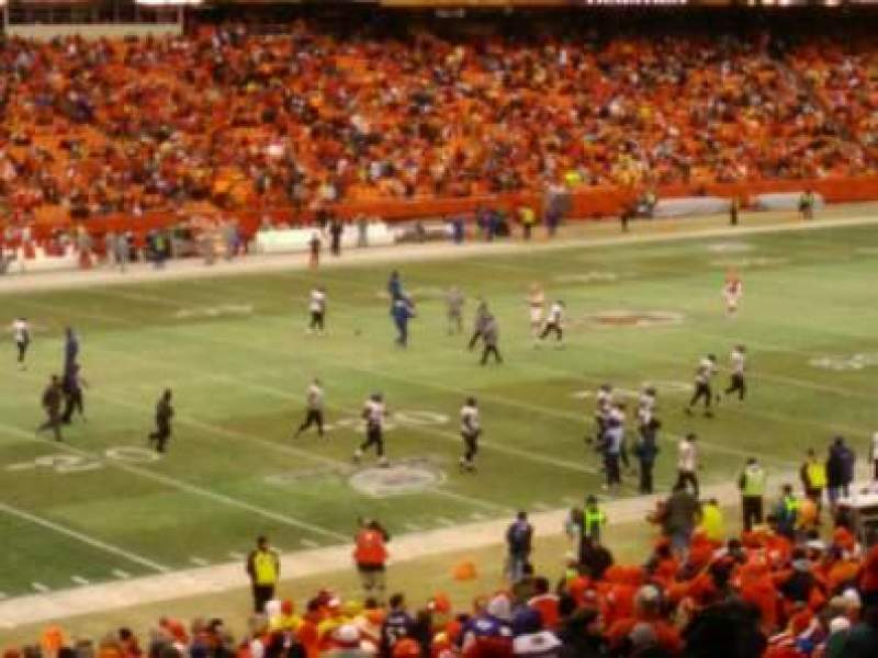Seating view for Arrowhead Stadium Section 123