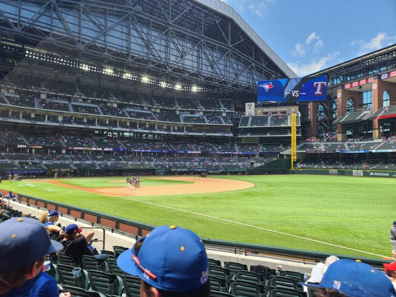 Seating view for Globe Life Field Section 24 Row 8 Seat 11