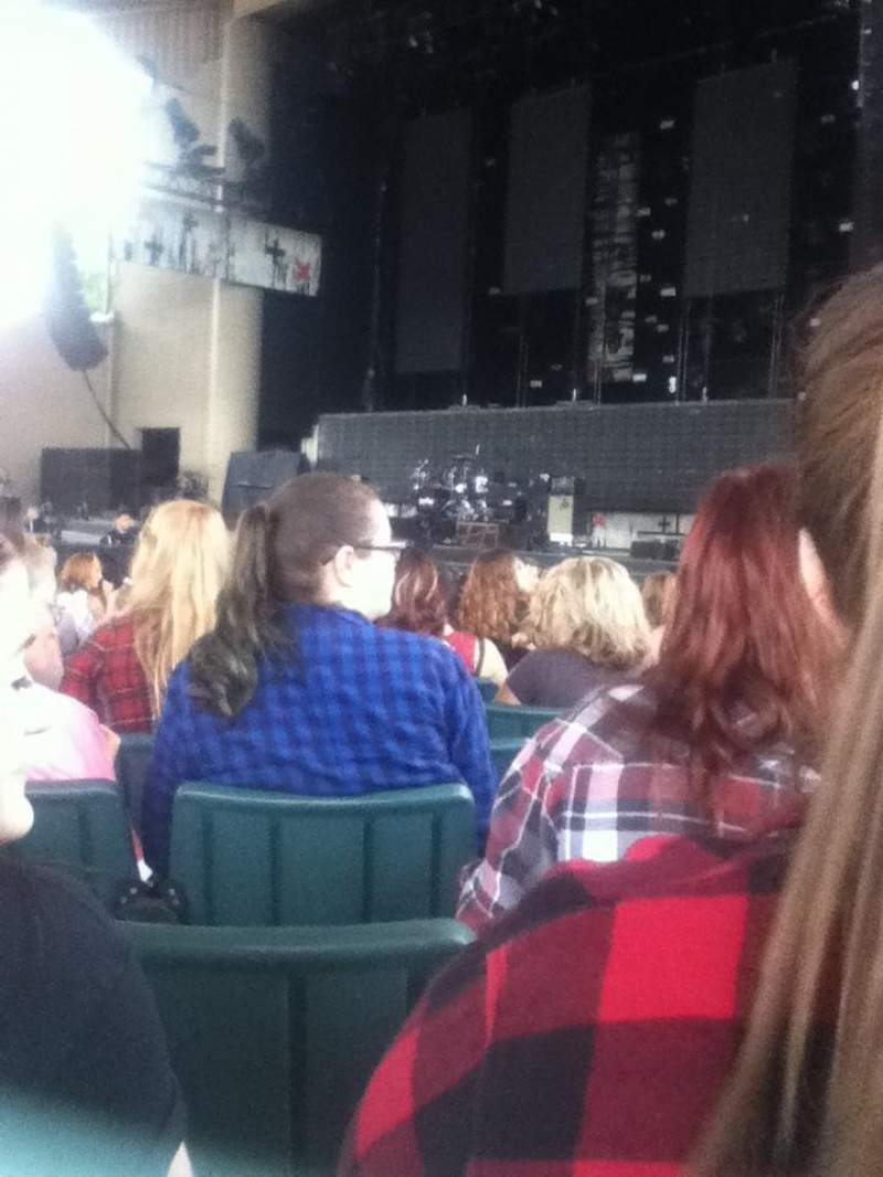 Seating view for Klipsch Music Center Section C Row AA Seat 19