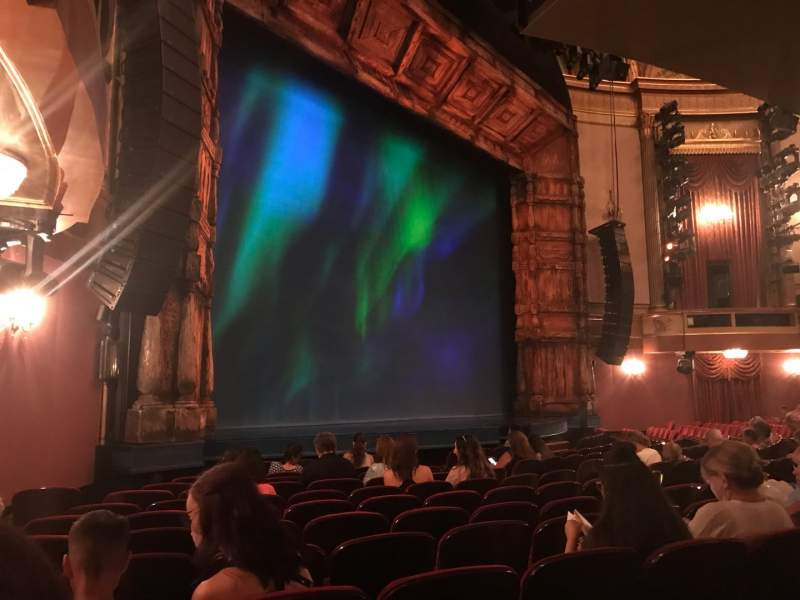 Seating view for St. James Theatre Section Orchestra L Row L Seat 29