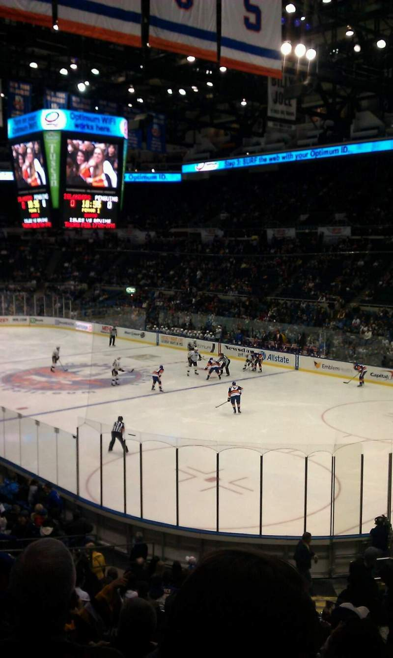 Seating view for Old Nassau Veterans Memorial Coliseum Section 227 Row K Seat 1