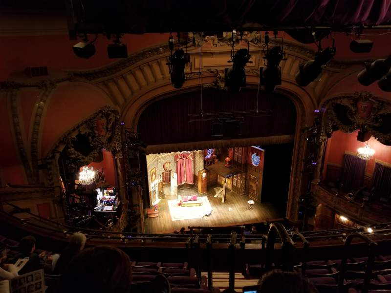 Seating view for Lyceum Theatre (Broadway) Section Balcony L