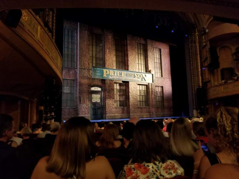 Seating view for Al Hirschfeld Theatre Section Orchestra L Row O Seat 17