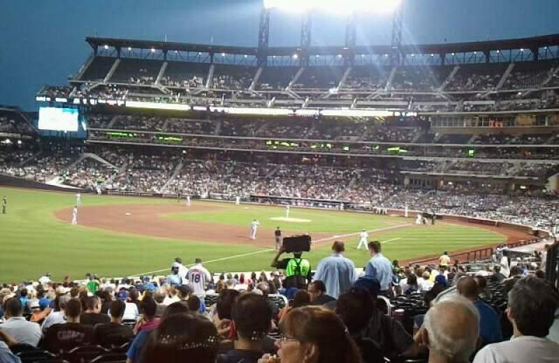 Seating view for Citi Field Section 128 Row 26 Seat 10