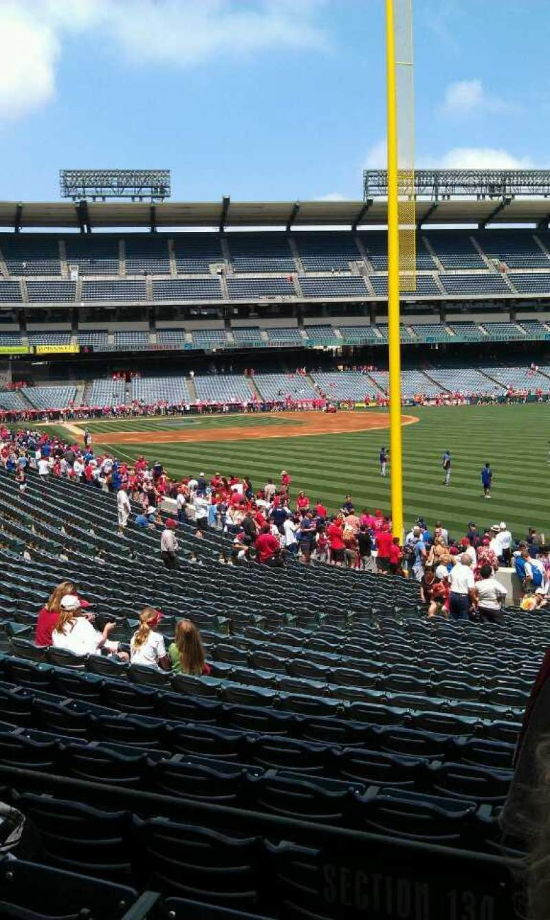 Seating view for Angel Stadium Section T231 Row a Seat 22